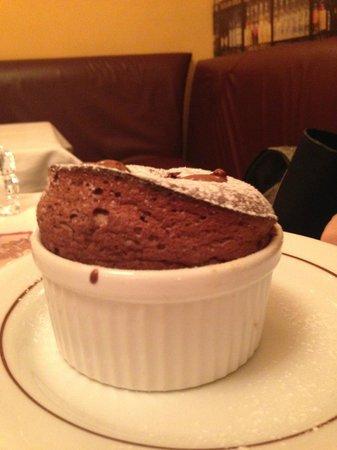 La Cuisine de Philippe : Σουφλέ σοκολάτας