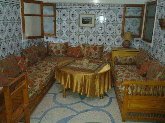 La Maison Anglaise: One of the lounge areas