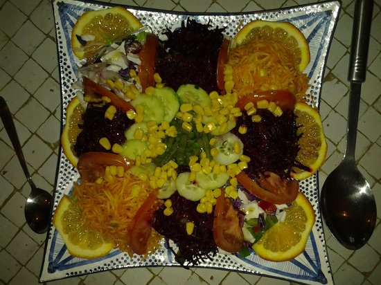 La Maison Anglaise: Delicious salad