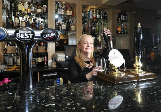 The Crown Hotel: Real ale now too!