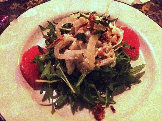 Cafe Degas: Crab salad