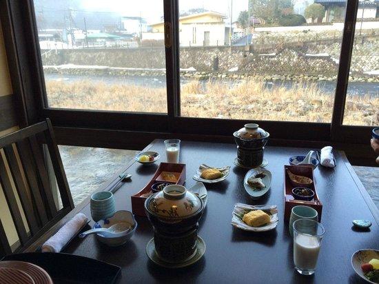 Okutsuso : 朝食