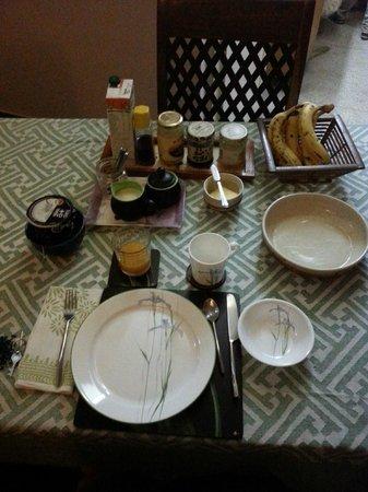 Chhoti Haveli: Great Breakfast thanks to Tapa :)