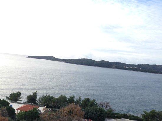 Sun Gardens Dubrovnik : Room view 6th floor
