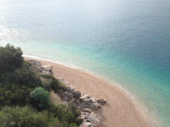 Sun Gardens Dubrovnik : Beach View