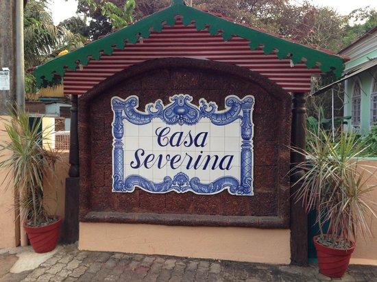 Casa Severina: Entrance