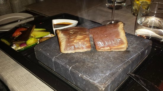 Elements Restaurant: Beef steak