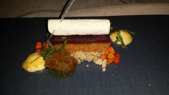 Elements Restaurant: Desert - Goat cheese