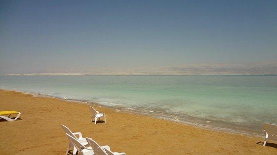 Lot Spa Hotel: Мертвое море - пляж Lot Hotel