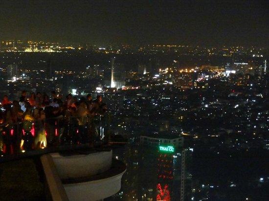 Sky Bar, Bangkok: Side view