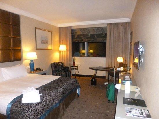 InterContinental Hotel Warsaw: Chambre avec vue