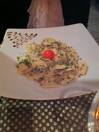 Couby's Café : Pâtes roquefort