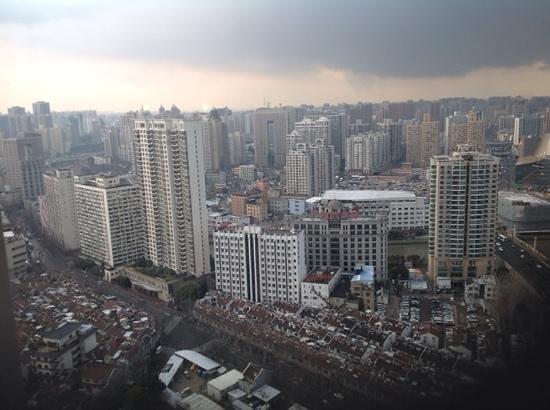 Shanghai Marriott Hotel City Centre : Room view