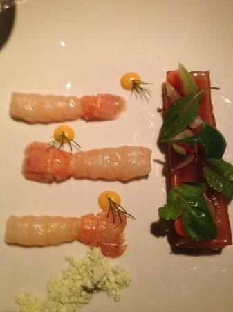 Celeste Restaurant : ラングスティーヌ(ヨーロッパアカザエビ)