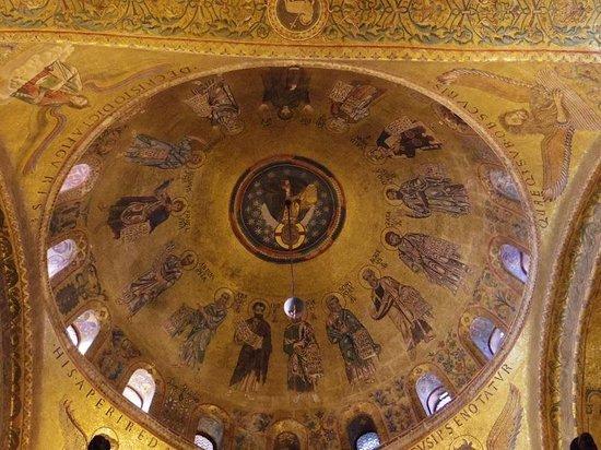 Basílica de San Marcos: Coupole des apotres
