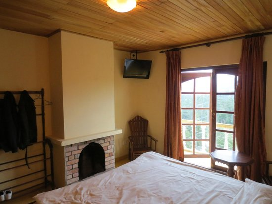 Hill View Bungalow: Large room with great view