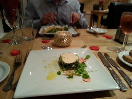 Valley Restaurant : smoked salmon parfait