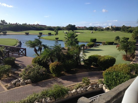 View of golf course from Mulligans