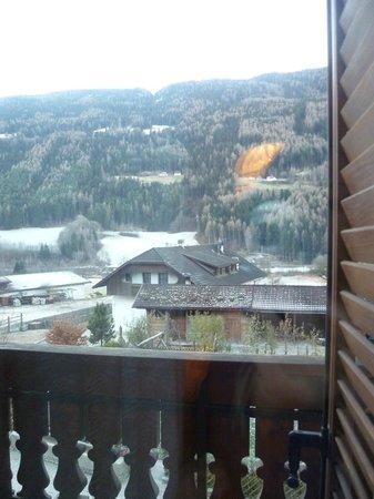 Residence Obermoarhof: Vista dalla stanza doppia