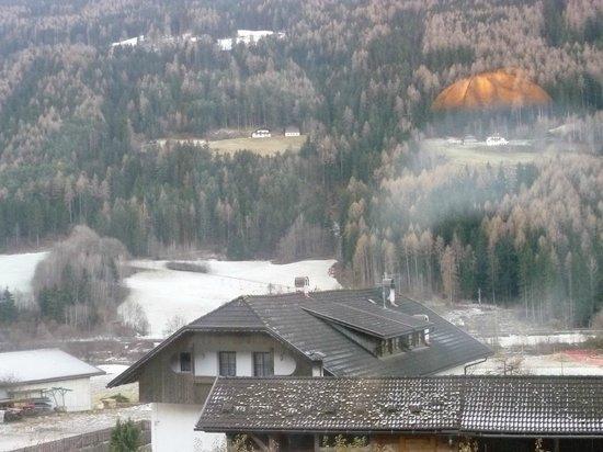 Residence Obermoarhof: Vista dal terrazzo