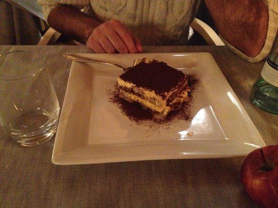 Hotel Astra: Generous Tiramisu!