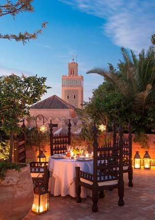 La Sultana Marrakech: Rooftop terrace