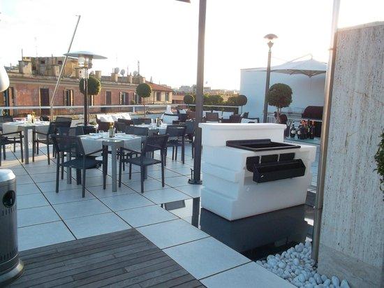 Le Meridien Visconti Rome: La terrasse