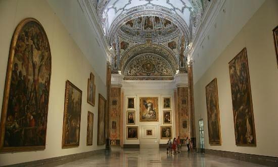 Pensión La Giraldilla : Museum of Fine Arts of Seville 50 metres from Giraldilla