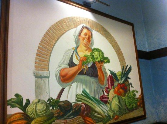 L'Insalata Ricca : Un quadro del locale