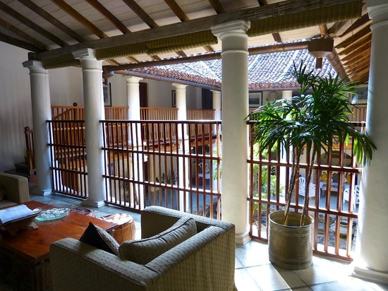 The Kandy House: Interior courtyard