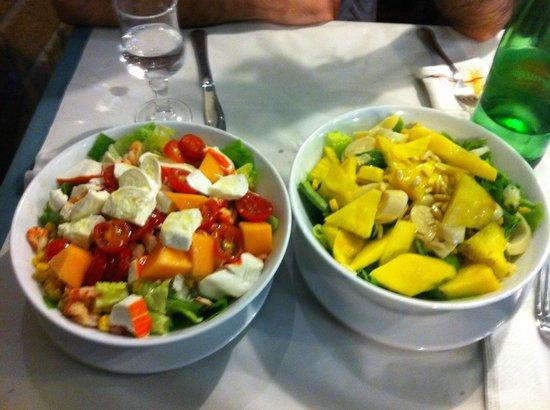 L'Insalata Ricca : Insalata esotica e insalata golosa
