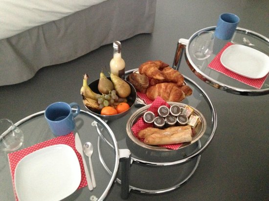 L'Hôtel Particulier : Le petit déjeuner