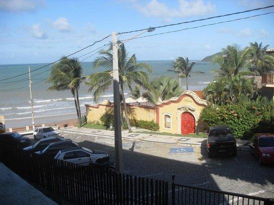 Elegance Ponta Negra Flat Beira Mar: Vista do Quarto - Lateral