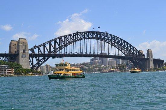 Sydney Harbour Bed and Breakfast: Sydney Harbour Bridge