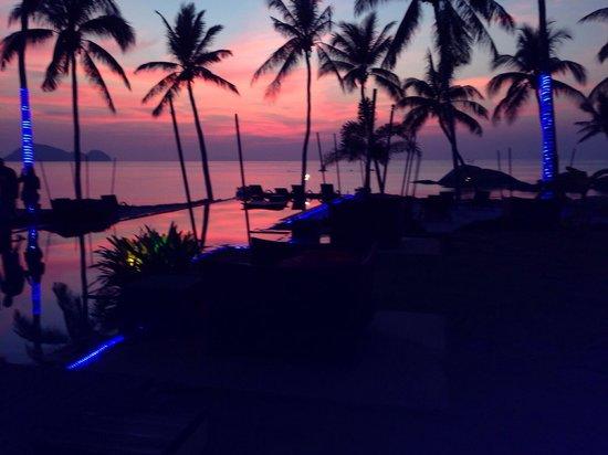 Kupu Kupu Phangan Beach Villas and Spa by l'Occitane : No it's no a postcard was taken on my iPhone not even using Instagram ... lol!