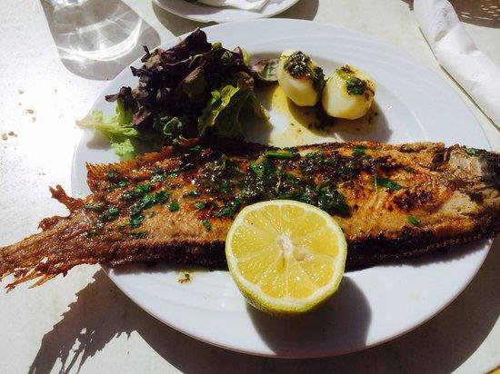 Brasserie de Flore: La sole !