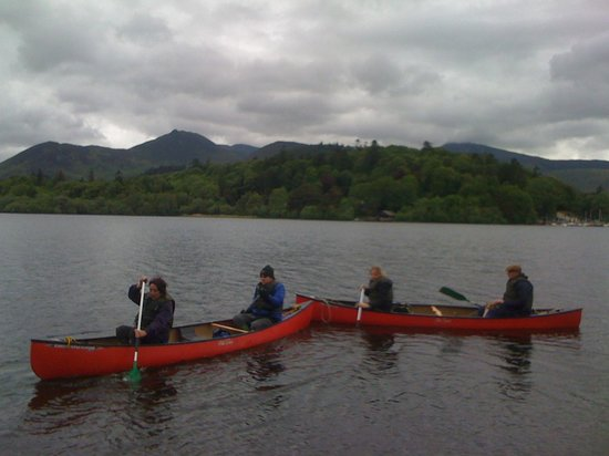 Keswick Canoe and Bushcraft: Out on the lake