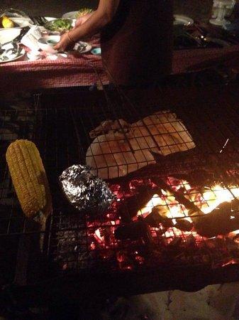 Banana Garden Home : Barbecue sur la plage