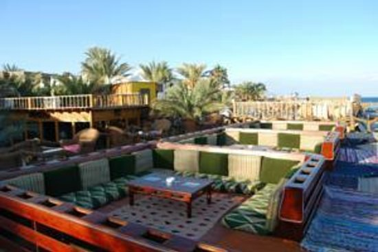 Acacia Dahab Hotel: The roof of Sahara Restaurant