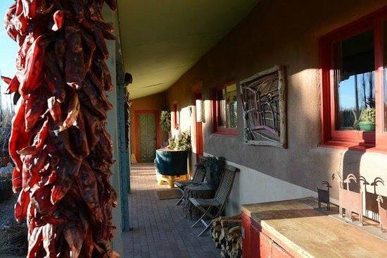 Casa Gallina: Front proch