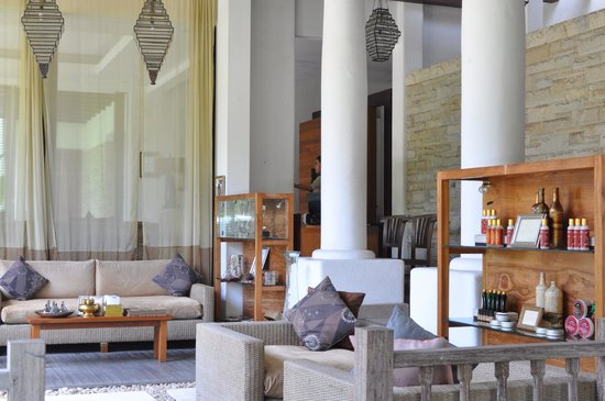 Villa de daun: スパのレセプション