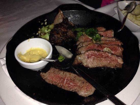 Abaca Restaurant : Angus Rib Eye for sharing