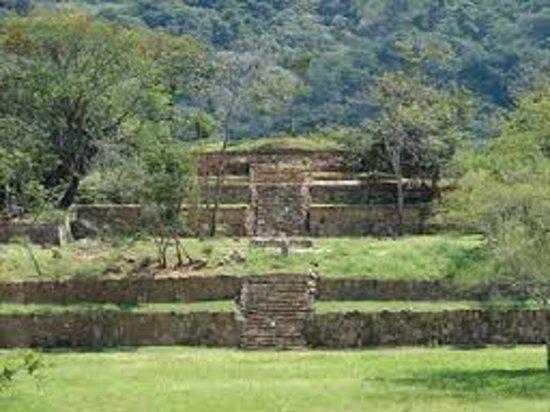 Tierra Colorada, Mexico: Tehuacalco Archaeological Zone