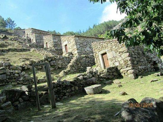 Muiños do Folón e do Picón: Vista general de los molinos