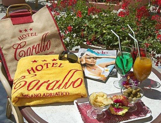 Hotel Corallo : Il benvenuto