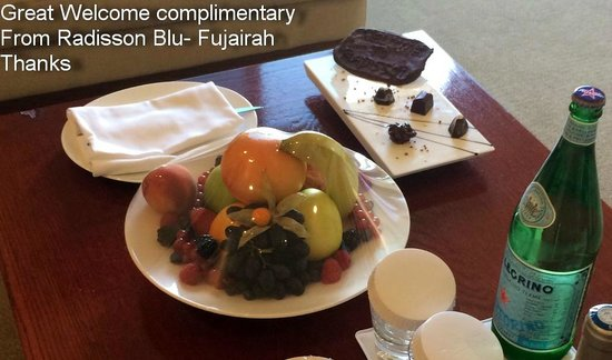 Dibba Al Fujairah, Förenade Arabemiraten: Great welcome complimentary