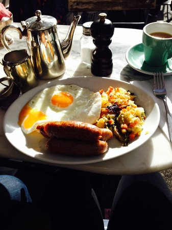 Stop The World Cafe: Bubble and Squeak Brunch!