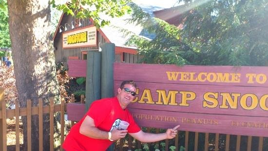 Cedar Point : camp snoopy, with a fridays bloody mary, noting better!