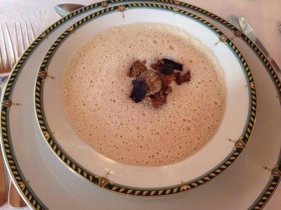 Auberge Provencale: Crème aux truffes