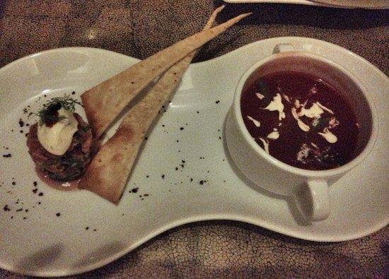 La Veranda Resort Phu Quoc - MGallery Collection : Andalusian Gazpacho - late evening room service